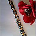 SIRIUS bracelet bleu or1