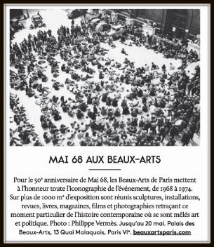 mai 68 beaux arts