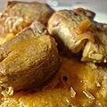 filet mignon de porc à l'orange et au curcuma