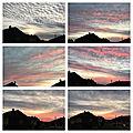 Encore un beau ciel, un <b>coucher</b> de <b>soleil</b> de premier ordre, demain la pluie est prévue sur les cartes des météorologues