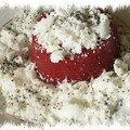 Entremets à la fraise