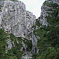 Gorges du Verdon, couloir de Samson 1 (04)