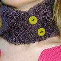 Wham Bam Thank your Lamb ! Neckwarmer