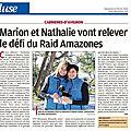 Les <b>Cigales</b> Amazones : C'est parti !!