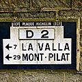 Izieux, plaques michelin/t.c.f.