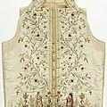 Waistcoat, france, 1785–95