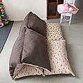 Le fauteuil lit