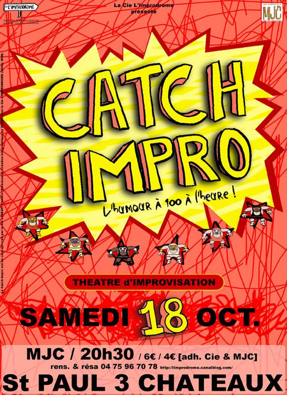 Affiche Catch-Impro 18