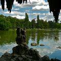 Vue sur le lac Daumesnil.