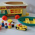 Play family camper fisher price