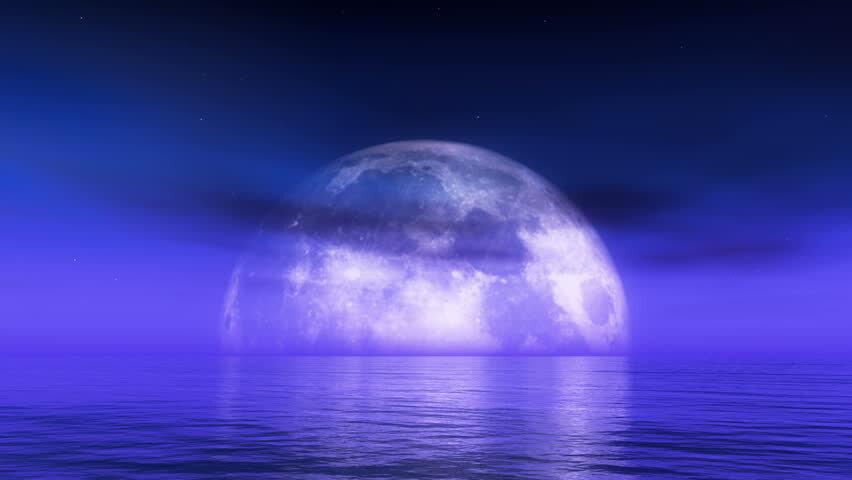 Rituel de pleine lune bleue pour la force et le courage