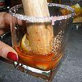 Caipirinha citron,orange sanguine par aurelie :
