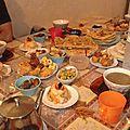 Ma table du ramadan de ce 4è jour