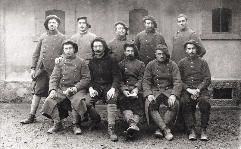 soldats du 159e RI