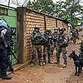 Centrafrique : minusca et sangaris reprennent par la force les bâtiments officiels à bria
