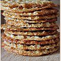 Biscuits croquants à l'avoine comme chez ikea® !