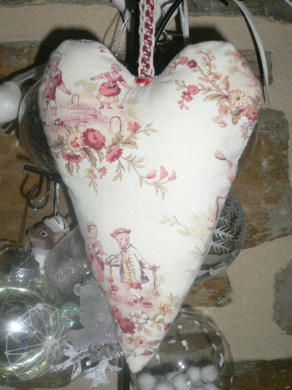 Coeur tissu ancien