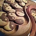 COOKIES ZEN Cookies Yin et Yang