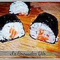 Makis maison au <b>saumon</b>