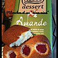 Financiers à la framboise / chocolat nestlé dessert amande