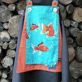 robe poisson motif perso