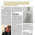 Article du magazine des côtes d'armor mars 2013