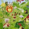 Les orchidées mises à l'honneur par les timbres postaux