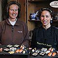 Cours de sushis et œnotourisme «chez delphine», à puycelsi dans le tarn