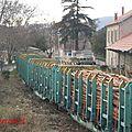 Trafic de bois en gare de st paul de fenouillèdes