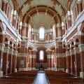Basilique Sainte Germaine de Pibrac, intérieur