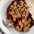 CRUMBLE PRUNE ROUGE, CASSIS & GROSEILLE