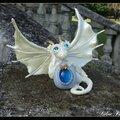 Le dragonnet de la fée morgane - sculpture