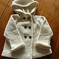 <b>A</b> tricoter, le <b>manteau</b> <b>à</b> <b>capuche</b> Petit Faune