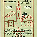 LE PHOTO CAMERA CLUB DE MARRAKECH EN 1959