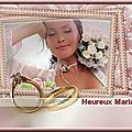 mariage cadre