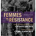 expo Femmes et <b>Résistance</b>