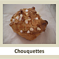 Chouquettes à la fleur d'oranger testées par pamotte