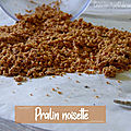 <b>Pralin</b> noisette
