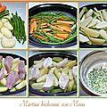 Filets de dinde et légumes <b>vapeur</b>