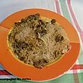 Poulet et légumes sautés aux <b>vermicelles</b> de riz WW