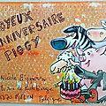 Anniversaire ... cochon