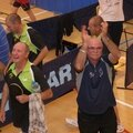 Coach Norbert applaudit les supporters !