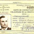 Les passeurs de la liberté (souvenirs de passeur de la résistance de mon grand-père)