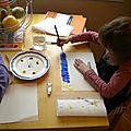 Atelier de peinture vacances de paques 2012