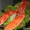 Un homard dans mon assiette et à bientôt je pars en vacances !