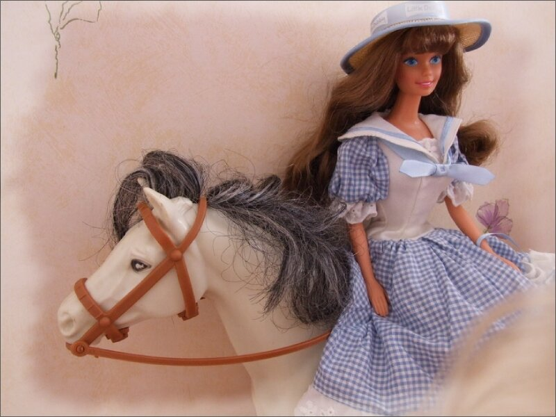 Cheval : Dallas / Barbie : Little Debbie
