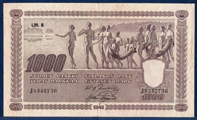 Billets de banque avec des femmes nues dessus (2)