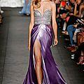 Robes de soirée longue pour printemps-été, fashion week----new york