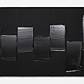 New exhibition brings together 9 works of <b>Pierre</b> <b>Soulages</b>'s iconic Outrenoir series