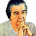 <b>Golda</b> <b>Meir</b>, la